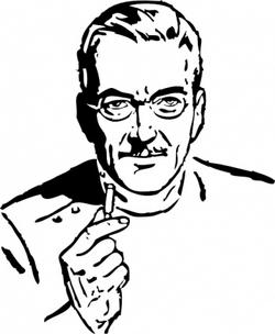 Doctor Clip Art J.S. Steinman Ad