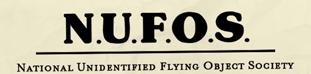 NUFOS letterhead