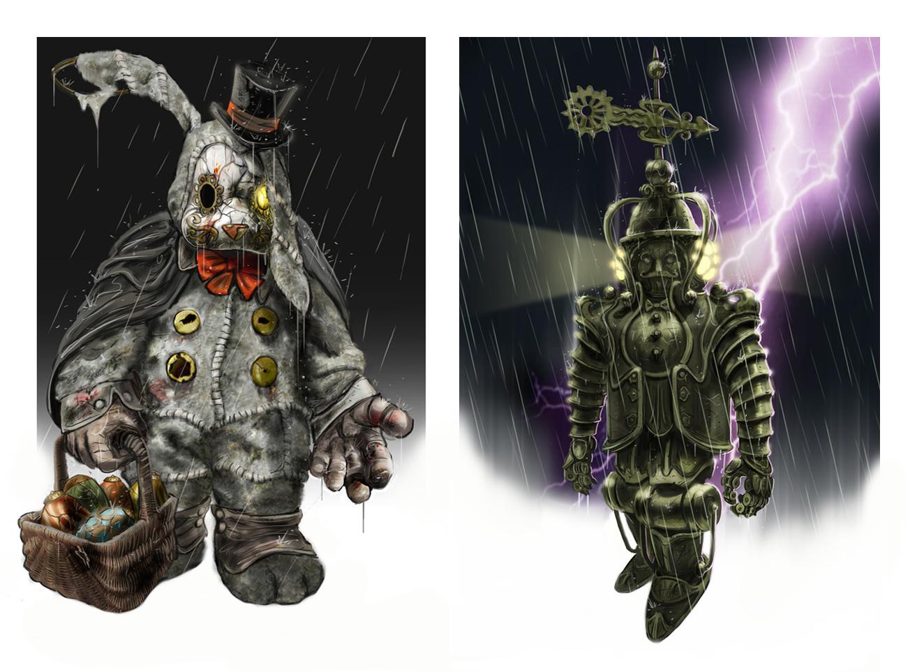 Bioshock Infinite Concept Art Wiki