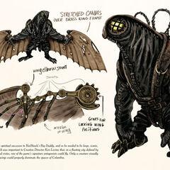 Concepto original de Songbird del libro de ilustraciones