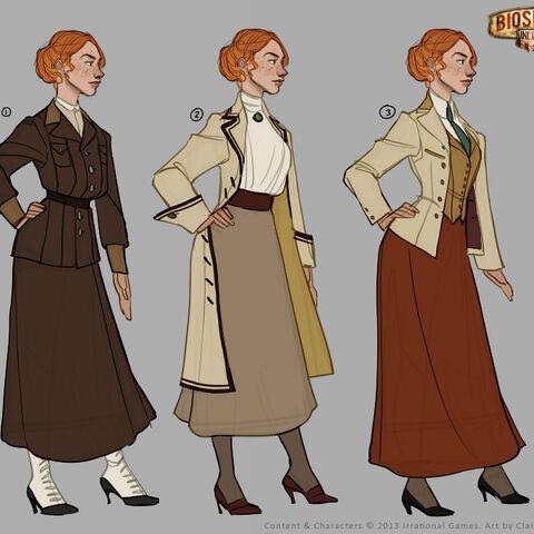 Ilustración conceptual, vestido.