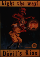 Devil's Kiss Advert from Carnival