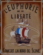 Paris poster 14 - L'Euphorie de la Liberte