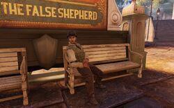 BioI TC New Eden Square Man on a Bench