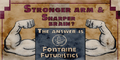 Fontaine Futuristics Stronger Arm & Sharper Brain Poster.png