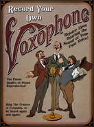 Voxophone Ad