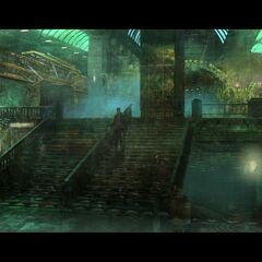 <i>Apollo İstasyonu merdivenleri.</i>