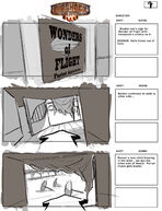 BioShock Infinite Early Battleship Bay Storyboards 7