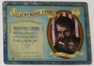 Jeremiah Fink BioShock Infinite The Siege of Columbia Leader Card