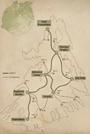 Austen Bathysphere Map