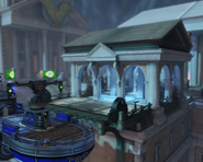 BioShock Infinite - Hand of the Prophet - Comstock House Rooftop - telescope f0849