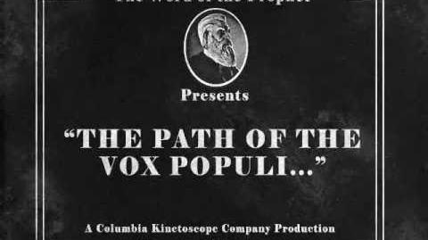 BioShock Infinite The path of the Vox Populi...