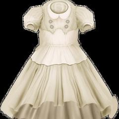 Vestido de Eleanor venerado como reliquia.