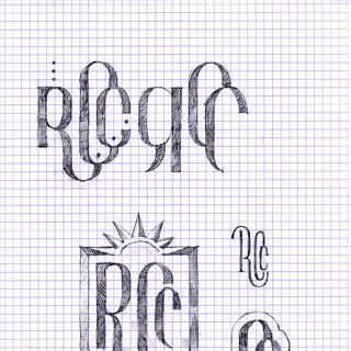 <i>Ilustración conceptual del logotipo, por Devin St.Clair.</i>