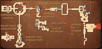 Карта гефе