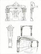 Minerva's Den Doors & Column Concepts 2