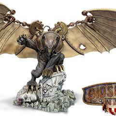 Estatua de Songbird incluída con la edición Songbird de Bioshock Infinite
