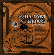William Strong Vitamins Label