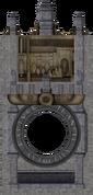 Bathysphere Station tunnel entrance - Torrance Hall