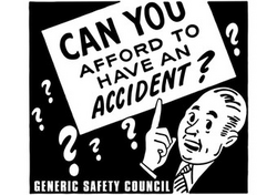 Can You Afford To Have An Accident Clip Art Please Stay With Your Group Sign