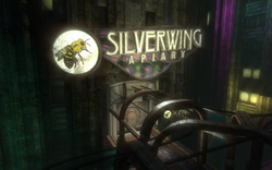 Silverwing Apiary Entrance