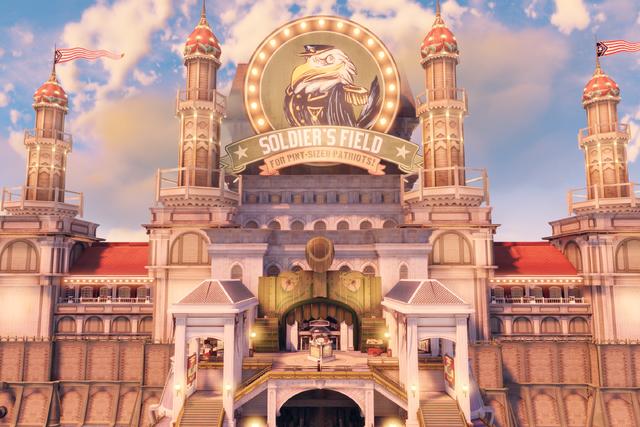 File:BioShock Infinite - Battleship Bay - Soldier's Field Welcome Center entrance f0807.png
