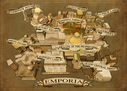 Emporia Map Pristine