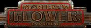 Marlene's Flower Emporium Sign
