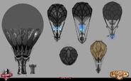 Early Columbia Building Balloon Concept