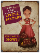 Be a Little Sister poster