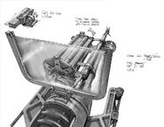 Bio2 Spear Gun Barrel Design Concept Art