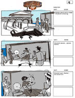 BioShock Infinite Early Battleship Bay Storyboards 9