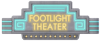 Footlight Theater Logo