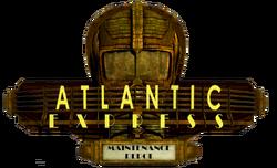 Maintenance Depot Atlantic Express Sign