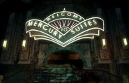 Mercury Suits Haupteingang