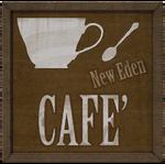 New Eden Cafe Sign