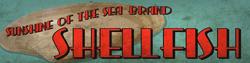 Sunshine of the Sea Brand Shellfish Advertising Sign