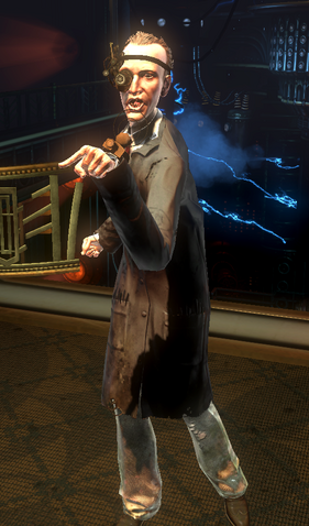 File:BioShock 2-Reed Wahl encountered in The Thinker - pointing f0370.png