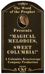 Kinetoscope Magical Melodies Sweep Columbia
