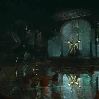 Imagen remasterizada de <i>BioShock 2</i>.