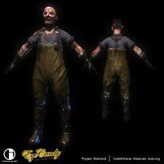 <i>El modelo final del Waders visto dentro del juego.</i>