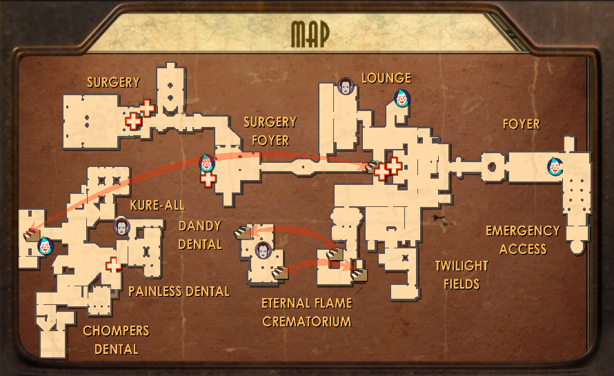 Medical Pavilion Map