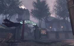 BioShock Infinite - Downtown Emporia - Memorial Gardens - Entrance f0819