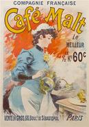 Lucien Lefevre - Cafe Malt Poster 1892
