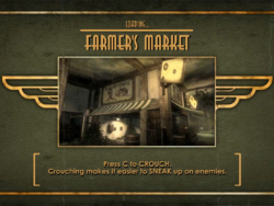 Early Richard's Farm Fresh Quality Cheese Poster On Loading Screen