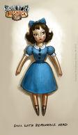 Sally's Doll Sarah Concept