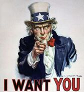 I Want You recruitment poster
