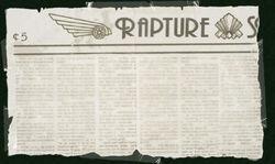 Rapture Standard Newspaper