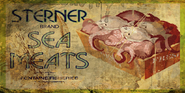 Sterner Brand Sea Meats Poster