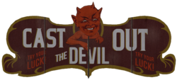 Cast out the Devil sign